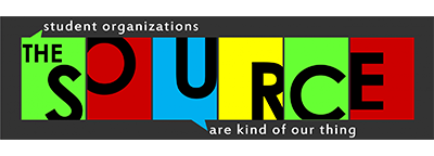 The Source logo: student organizations are kind of our thing