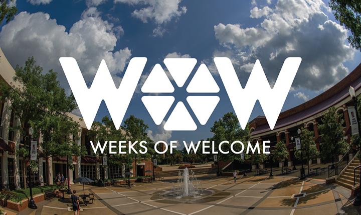 Weeks of Welcome logo